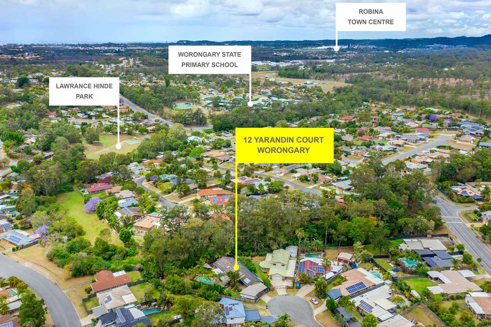 Second view of Homely house listing, 12 Yarandin Court, Worongary QLD 4213