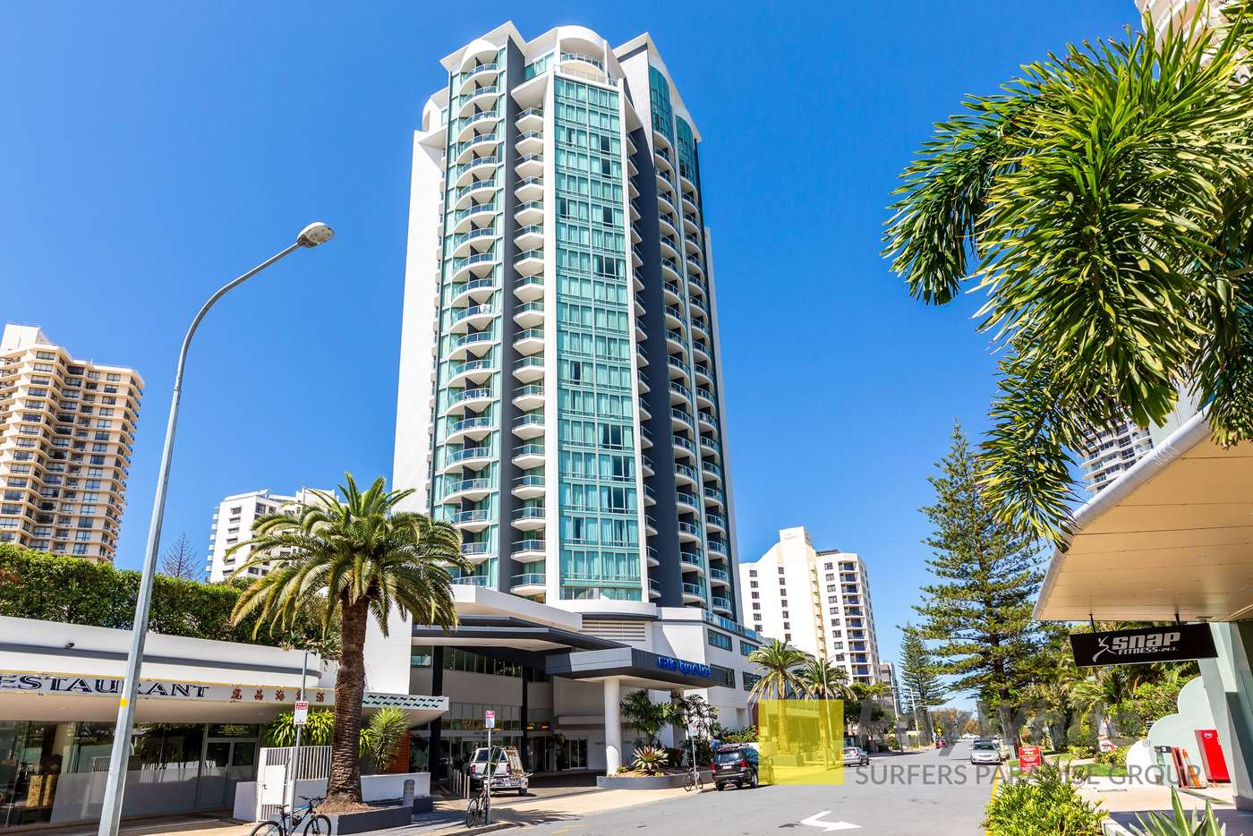 Main view of Homely studio listing, 1101/25 Laycock Street, Surfers Paradise QLD 4217