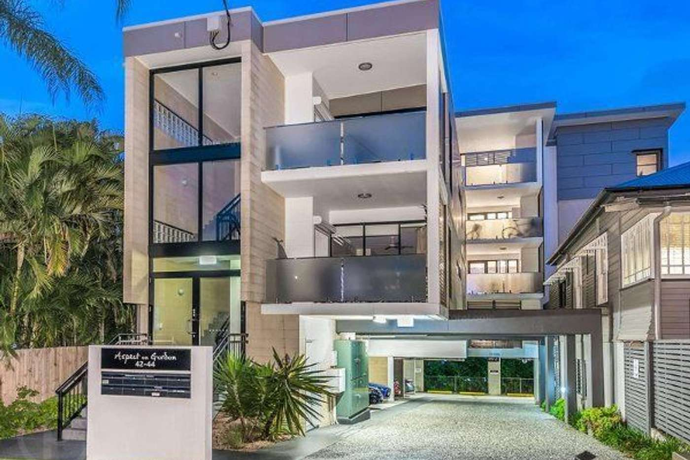 Main view of Homely apartment listing, 6/42-44 Gordon Street, Milton QLD 4064