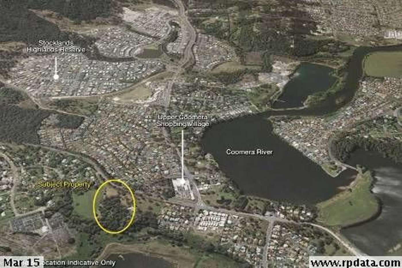 Main view of Homely residentialLand listing, 457 Tamborine-Oxenford Road, Upper Coomera QLD 4209