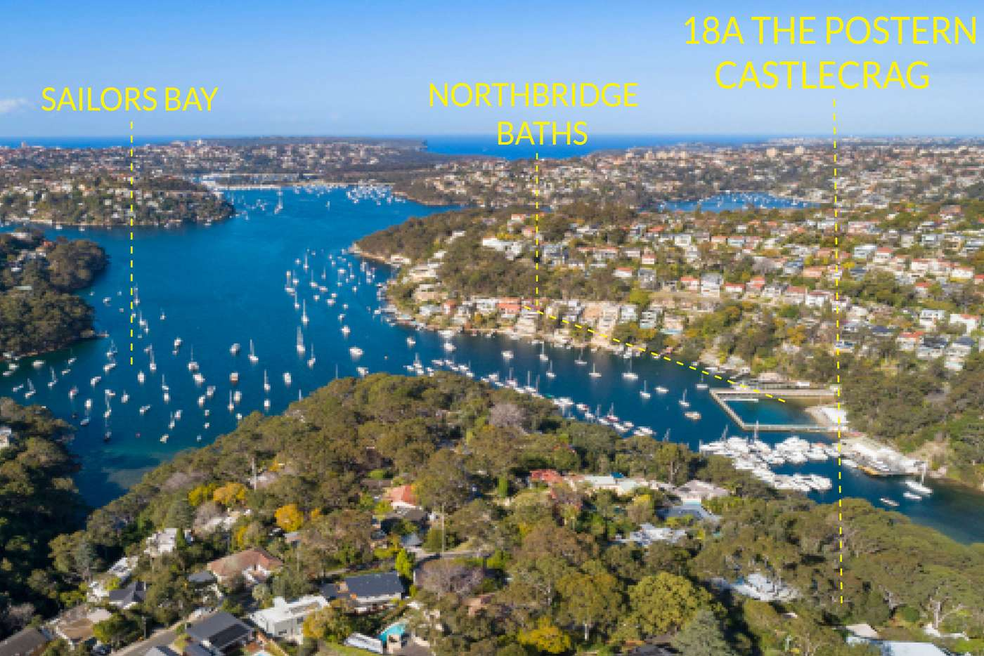 Fourth view of Homely house listing, 18A The Postern, Castlecrag NSW 2068