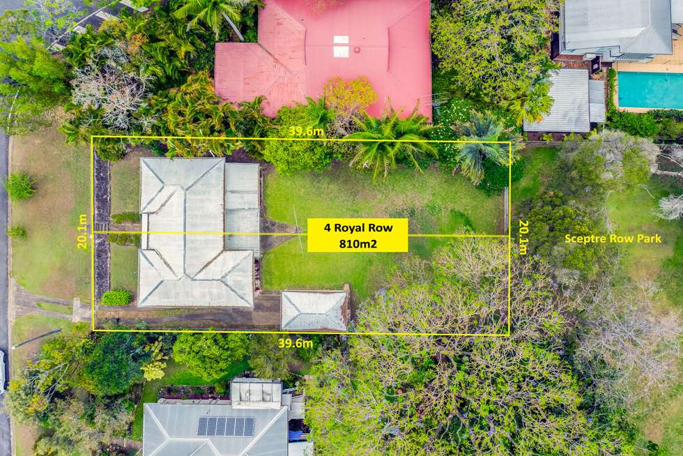 Fourth view of Homely house listing, 4 Royal Row, Bardon QLD 4065