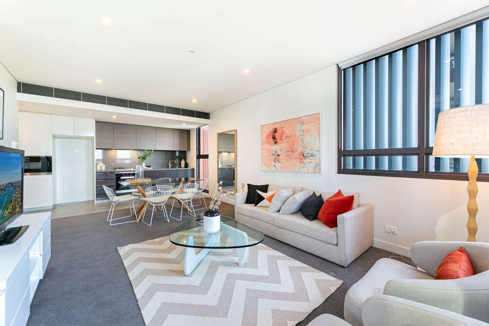 Second view of Homely apartment listing, 608/8 Ebsworth Street, Zetland NSW 2017