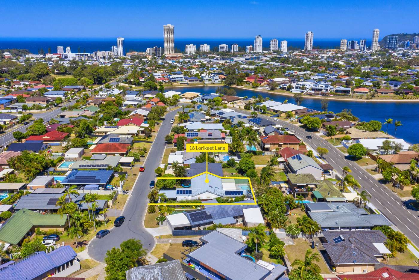 Main view of Homely house listing, 16 Lorikeet Lane, Burleigh Waters QLD 4220