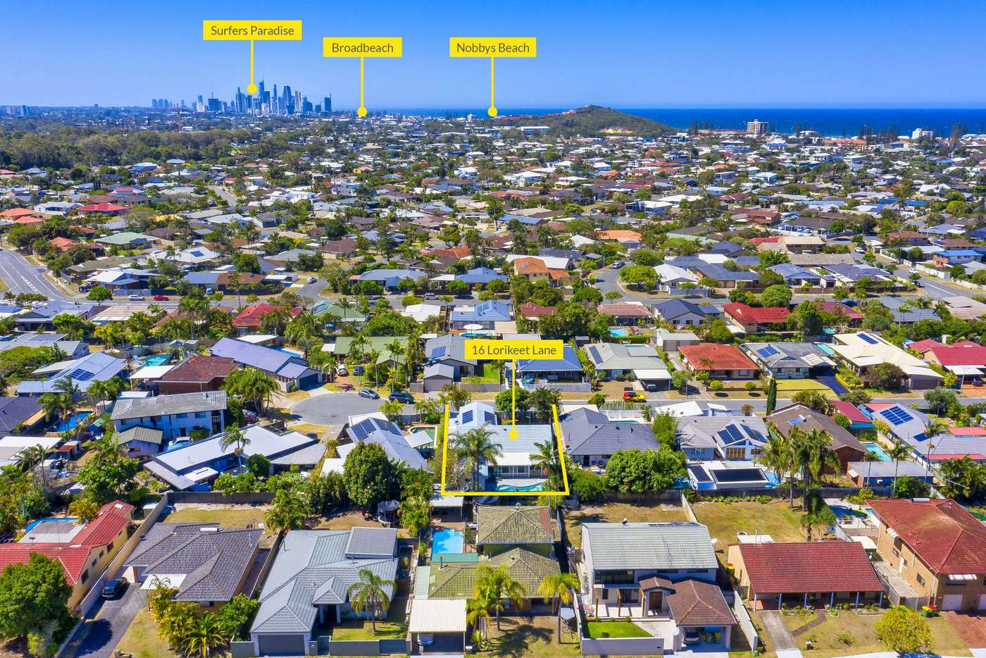 Sixth view of Homely house listing, 16 Lorikeet Lane, Burleigh Waters QLD 4220