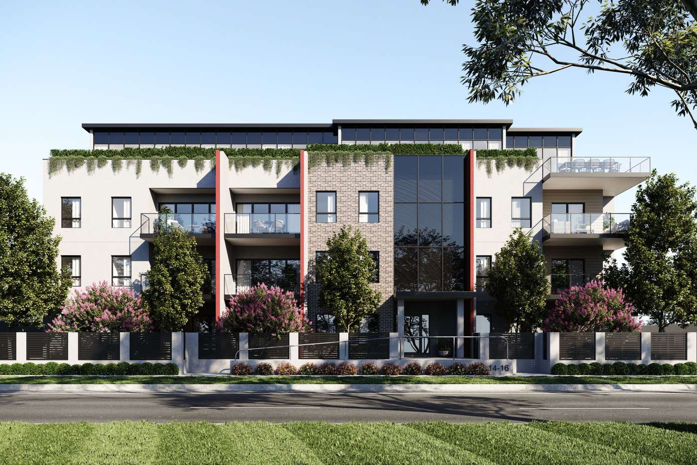 Main view of Homely apartment listing, 302/14-16 Springfield Avenue, Croydon VIC 3136
