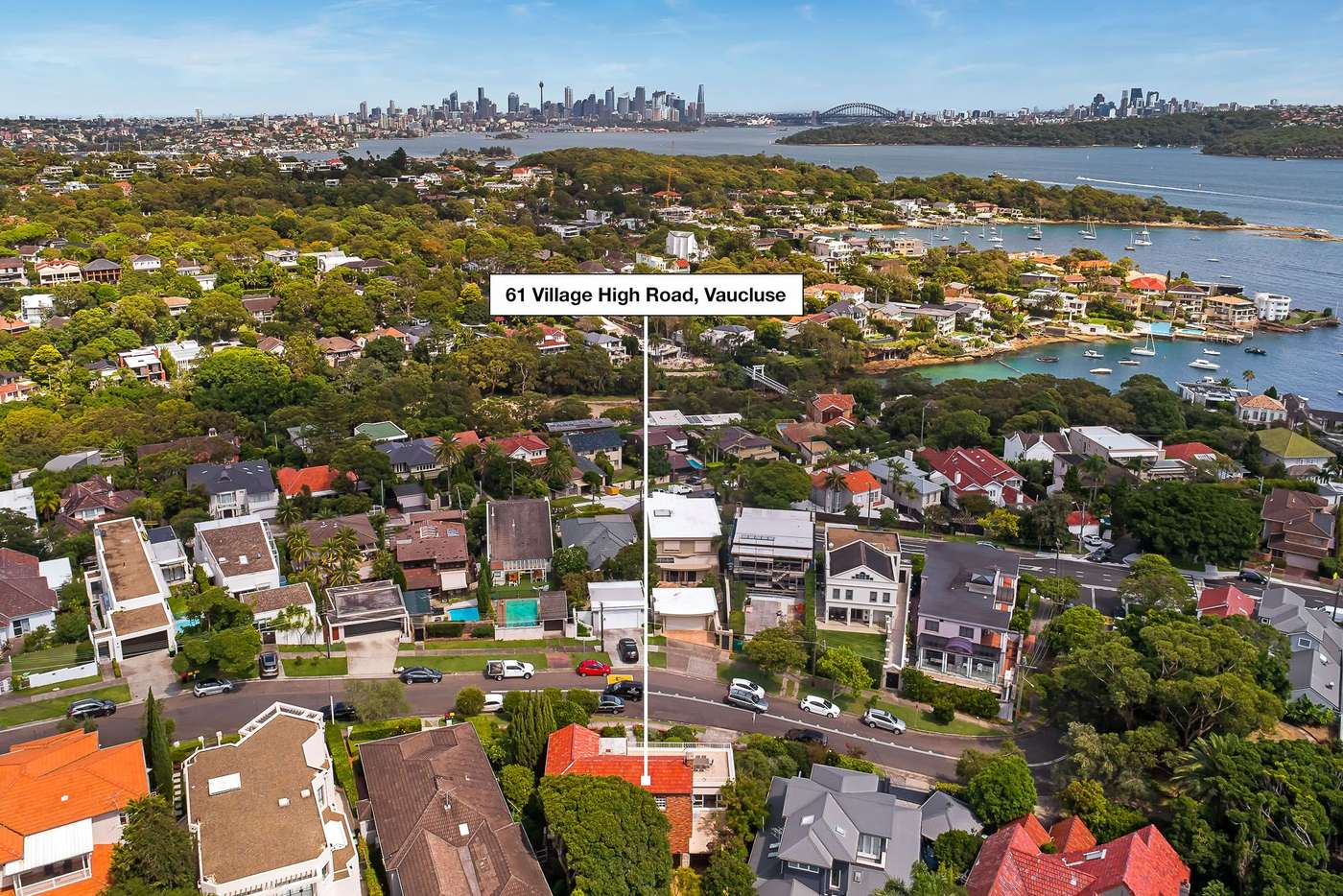 Main view of Homely house listing, 61 Village High Road, Vaucluse NSW 2030