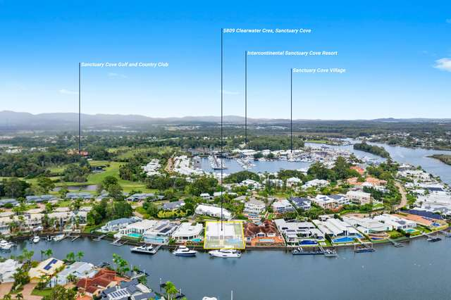5809 Clearwater Crescent, Sanctuary Cove QLD 4212