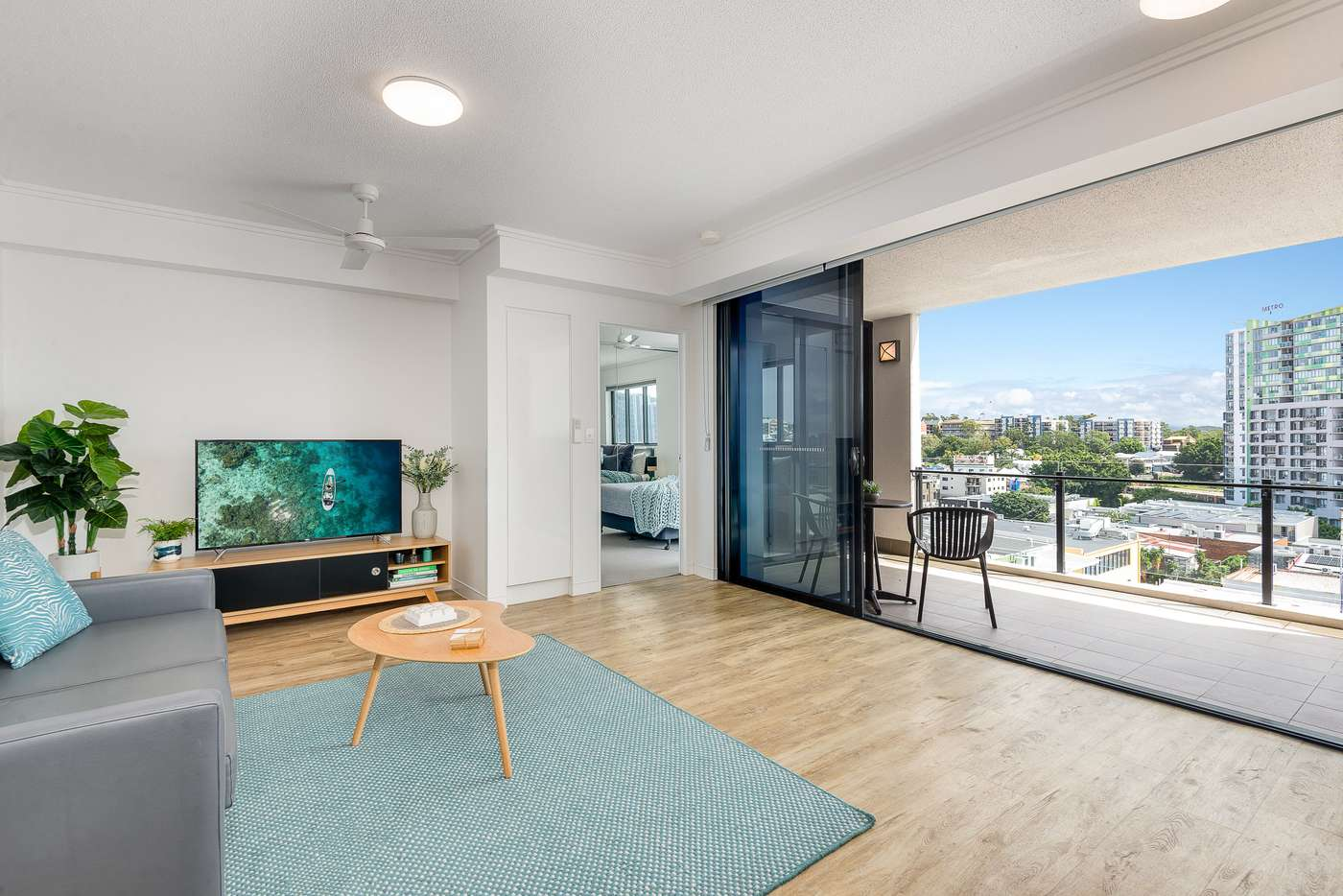 Main view of Homely apartment listing, 701/398 St Pauls Terrace, Fortitude Valley QLD 4006