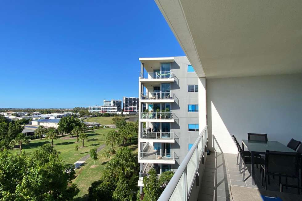 Second view of Homely apartment listing, 407/3 Compass Drive, Biggera Waters QLD 4216