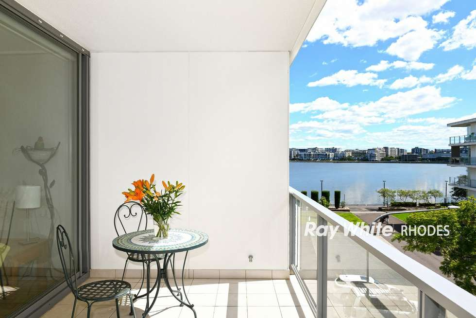 Third view of Homely apartment listing, 205/17 Jean Wailes Avenue, Rhodes NSW 2138