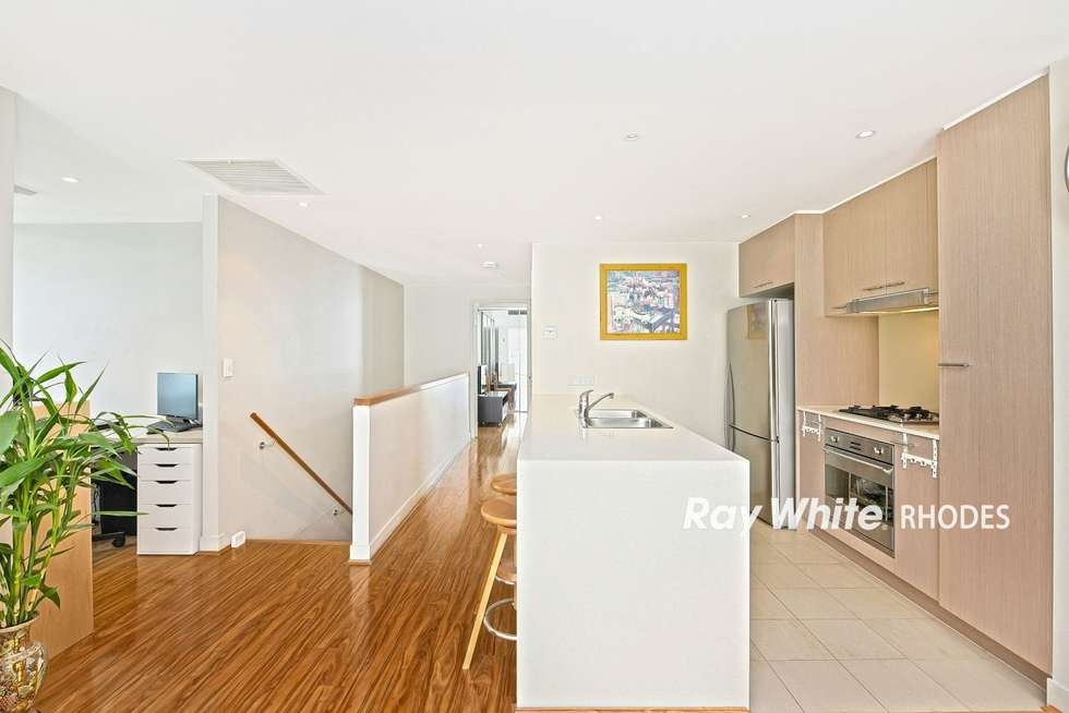 Fourth view of Homely apartment listing, 205/17 Jean Wailes Avenue, Rhodes NSW 2138