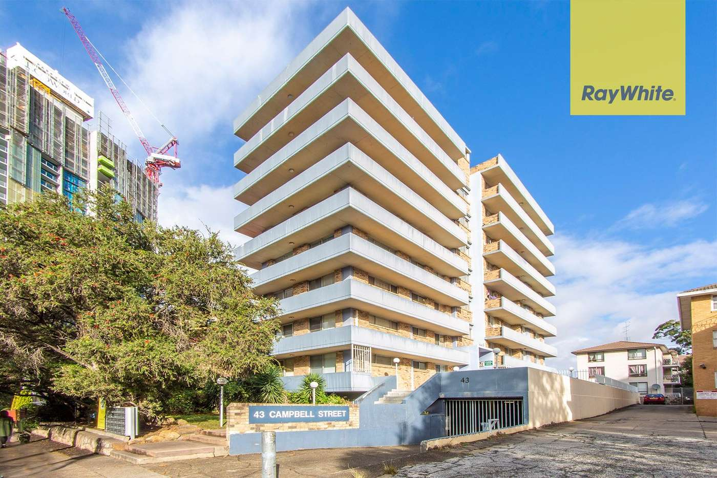 Main view of Homely unit listing, 1/43 Campbell Street, Parramatta NSW 2150