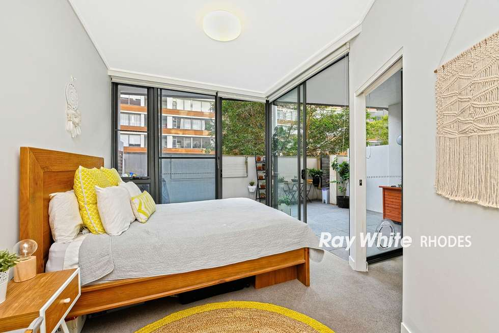 Fourth view of Homely apartment listing, 104/13 Mary Street, Rhodes NSW 2138