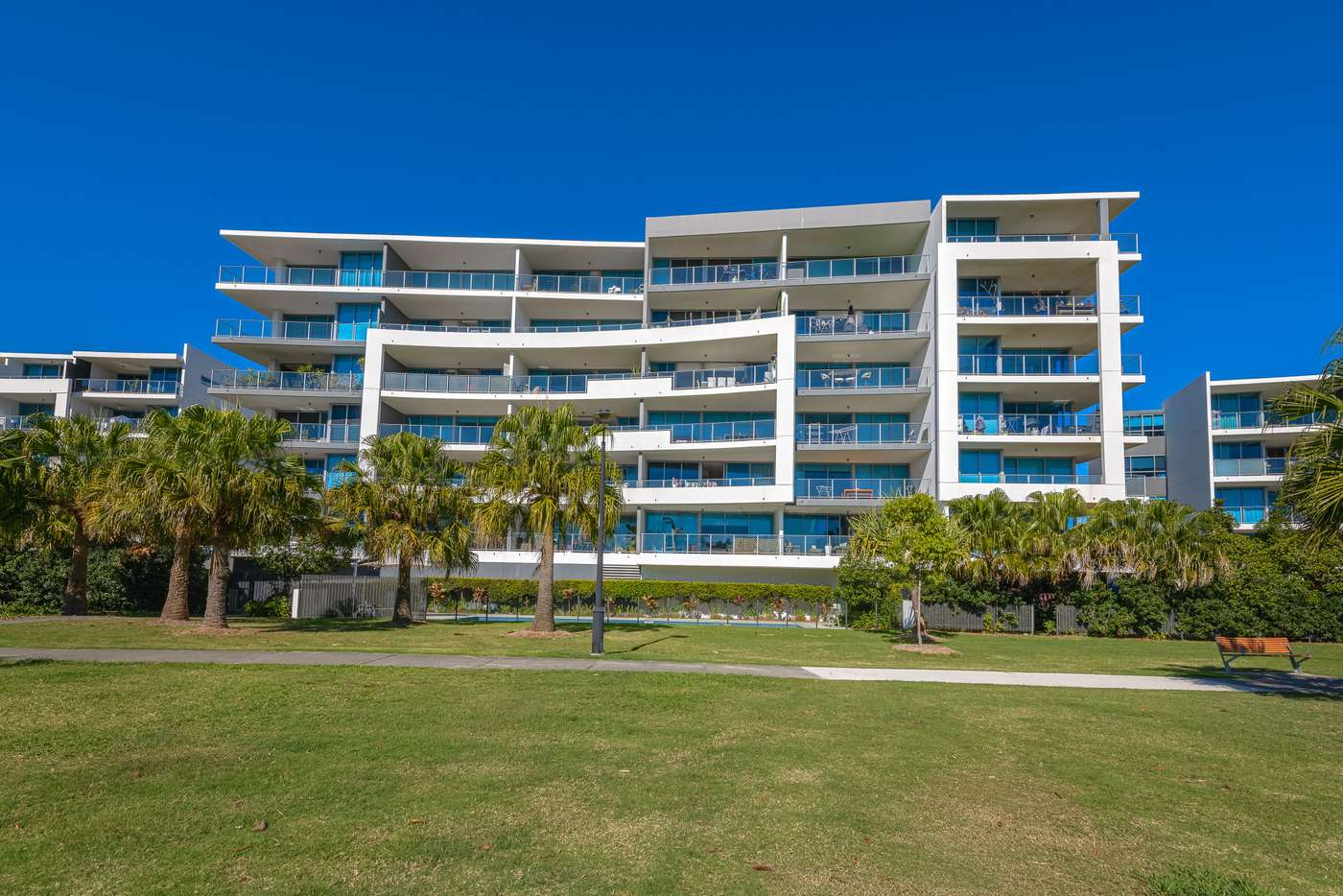 Main view of Homely apartment listing, 410/41 Harbour Town Drive, Biggera Waters QLD 4216