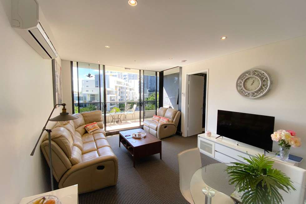 Second view of Homely apartment listing, 711/2 Aqua Street, Southport QLD 4215