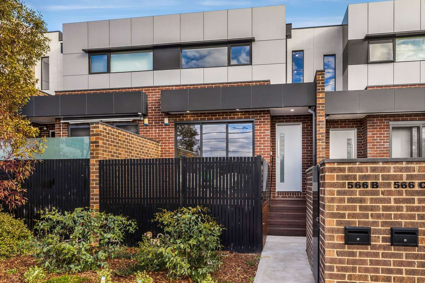Main view of Homely townhouse listing, 566B Moreland Road, Brunswick West VIC 3055