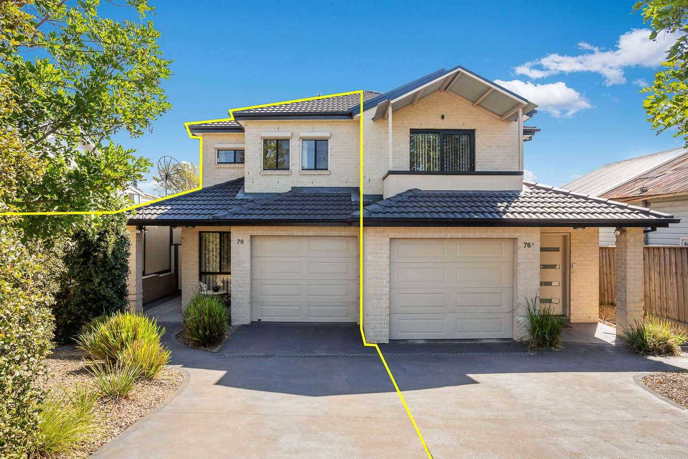Main view of Homely semiDetached listing, 76 Bridge Road, Westmead NSW 2145