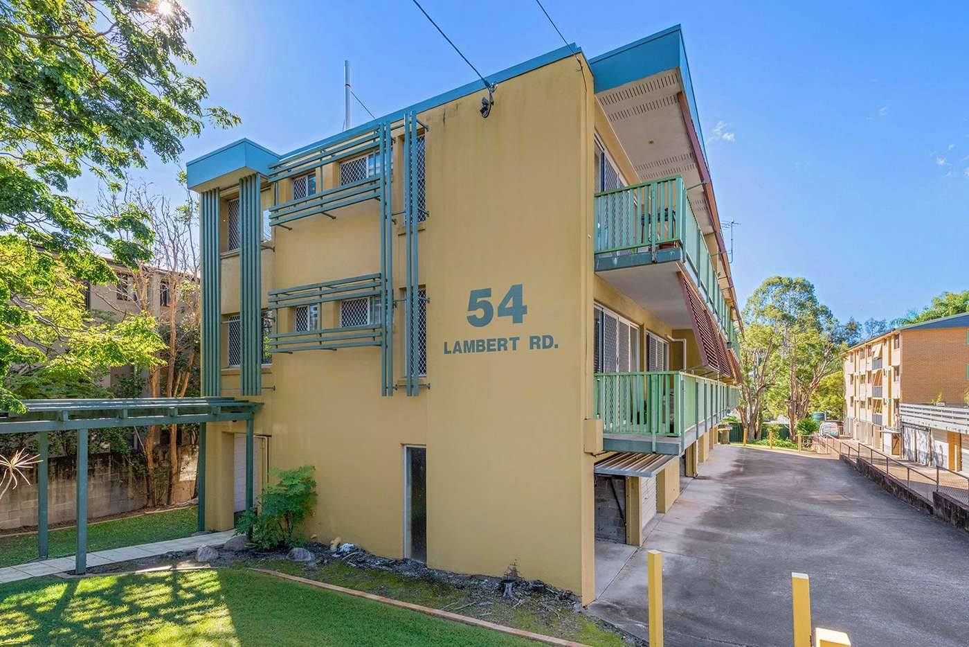 Main view of Homely unit listing, 3/54 Lambert Road, Indooroopilly QLD 4068