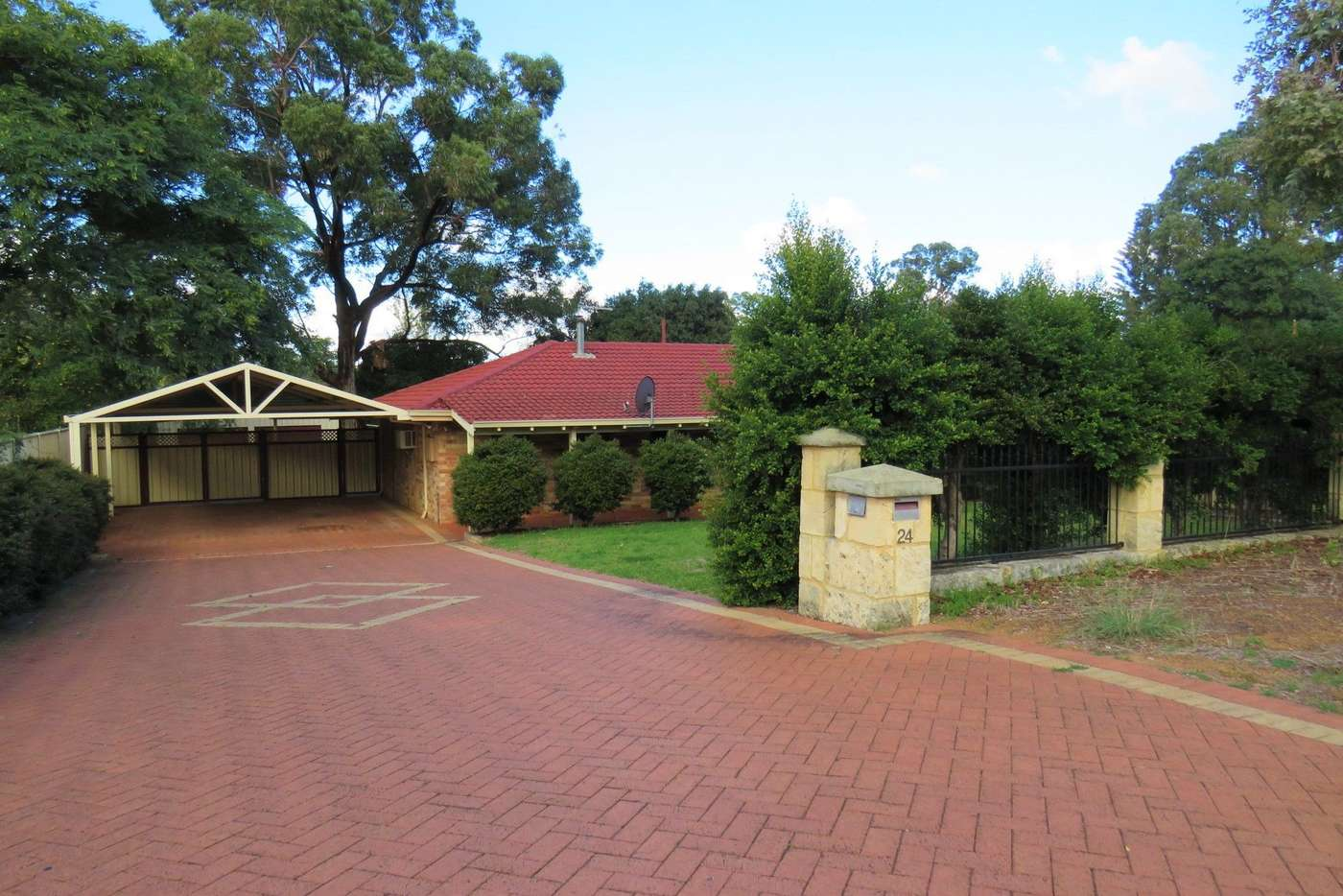Main view of Homely house listing, 24 Shield Road, Lesmurdie WA 6076