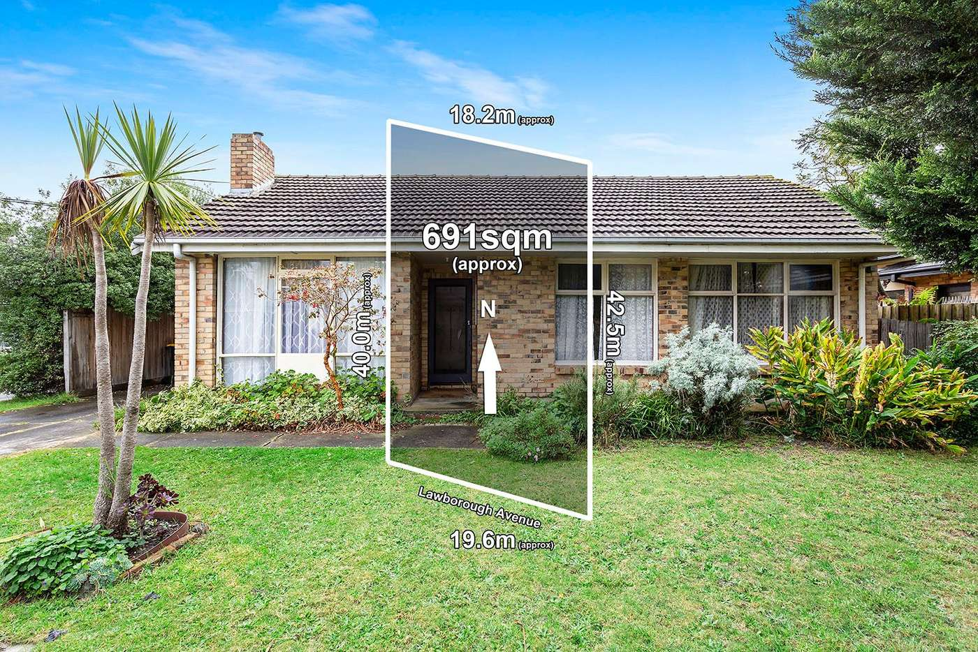 Main view of Homely house listing, 6 Lawborough Avenue, Parkdale VIC 3195