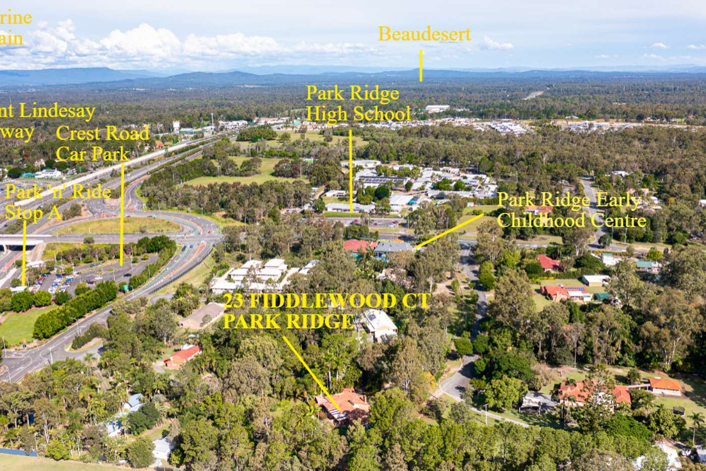 Main view of Homely house listing, 23 - 27 Fiddlewood Court, Park Ridge QLD 4125
