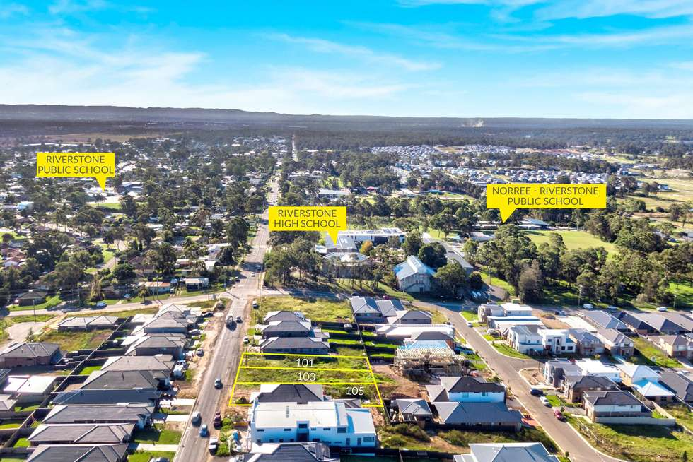 Fifth view of Homely residentialLand listing, 101 McCulloch Street, Riverstone NSW 2765