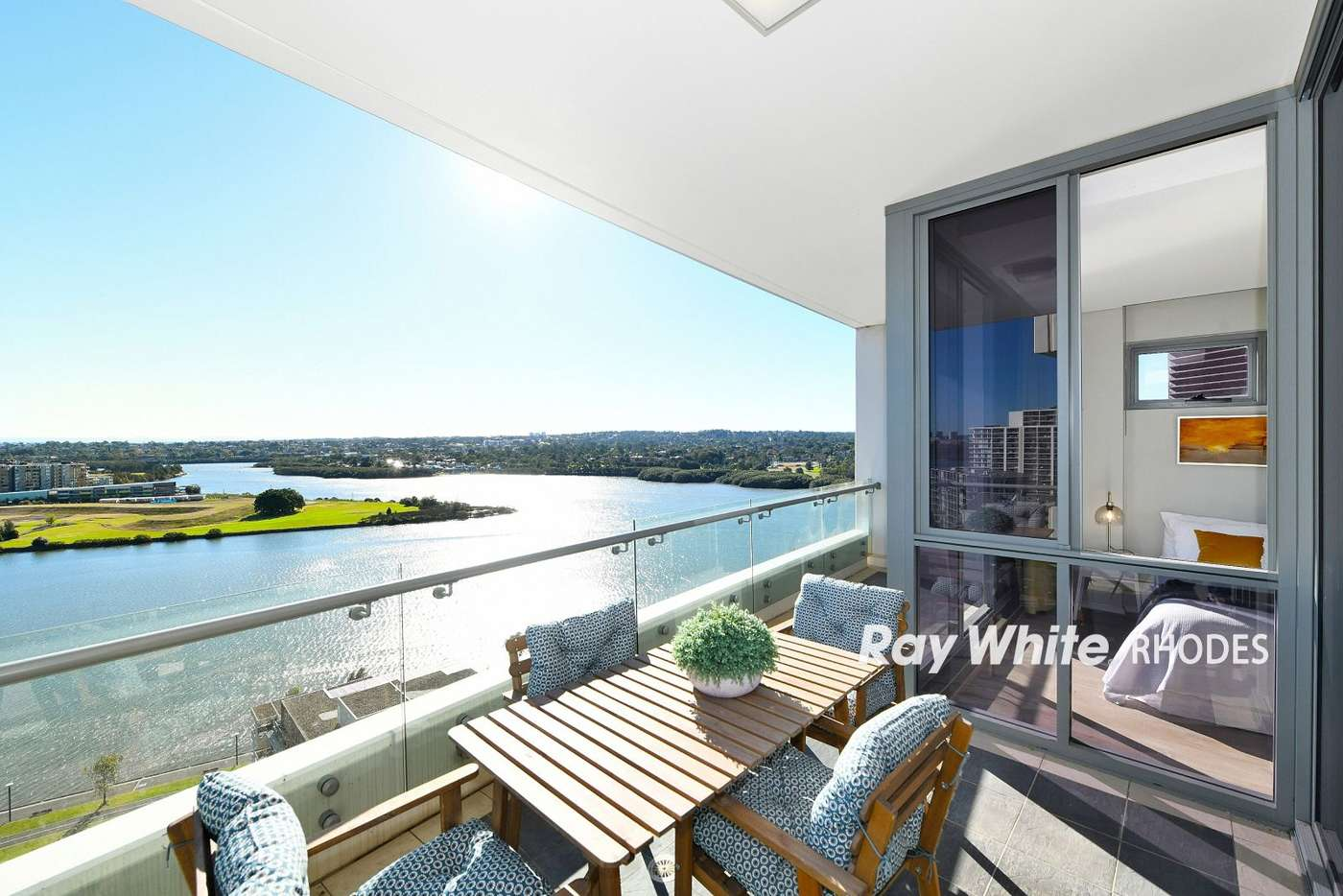 Main view of Homely apartment listing, 1408/87 Shoreline Drive, Rhodes NSW 2138