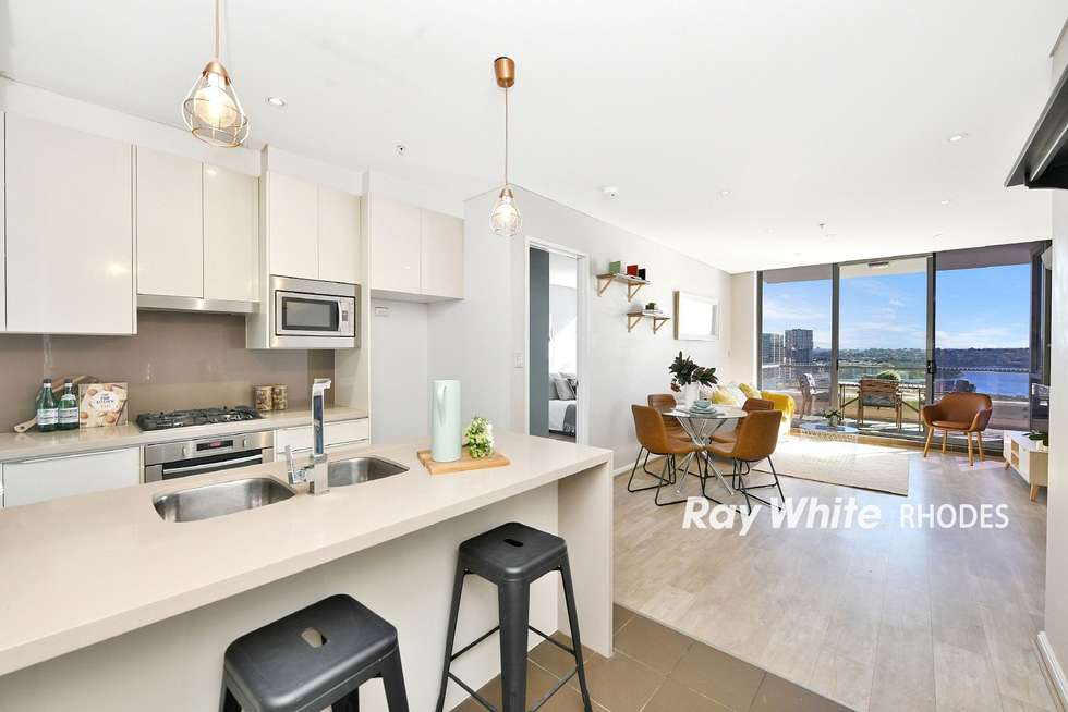 Second view of Homely apartment listing, 1408/87 Shoreline Drive, Rhodes NSW 2138