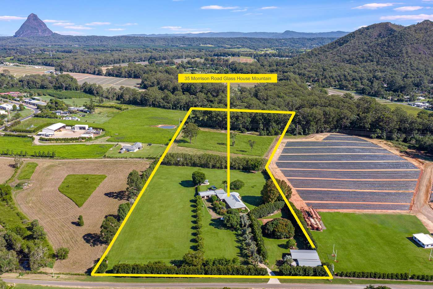 Main view of Homely house listing, 35 Morrison Road, Glass House Mountains QLD 4518