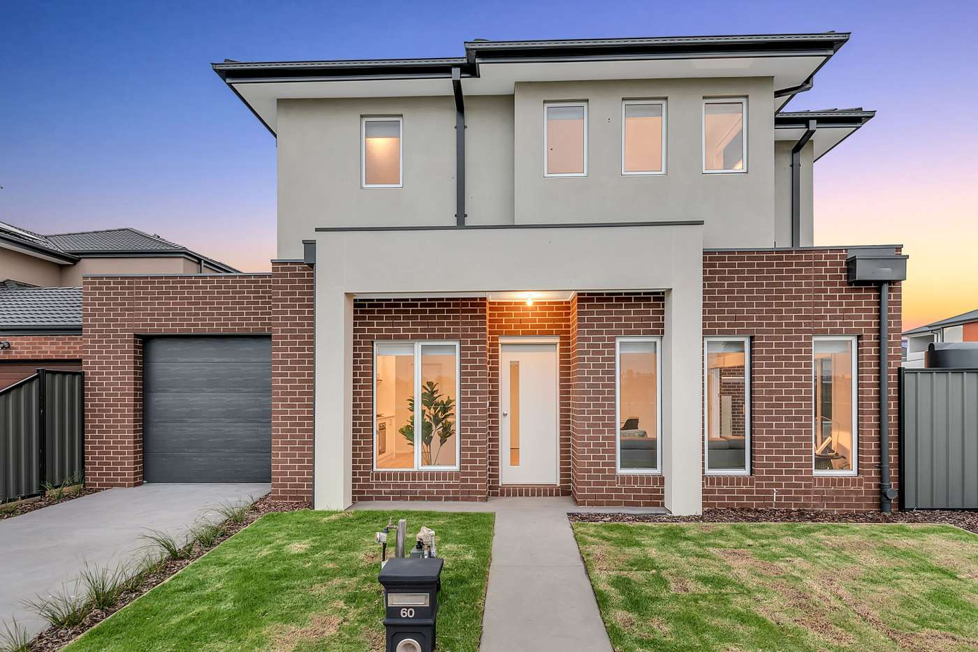 Main view of Homely townhouse listing, 60 Parkfront Crescent, Roxburgh Park VIC 3064