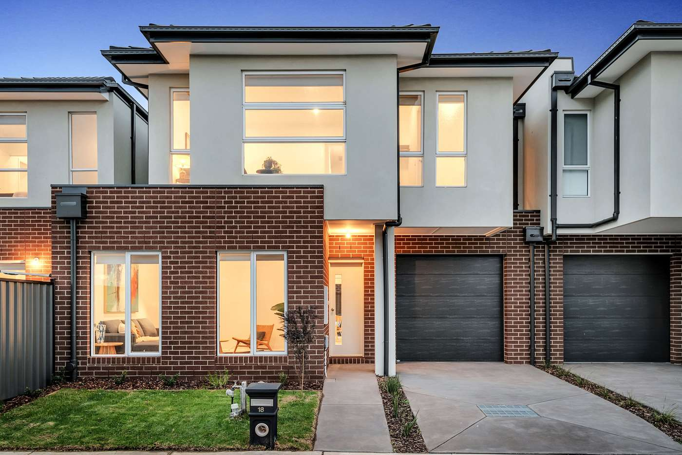 Main view of Homely townhouse listing, 18 Adventure Crescent, Roxburgh Park VIC 3064