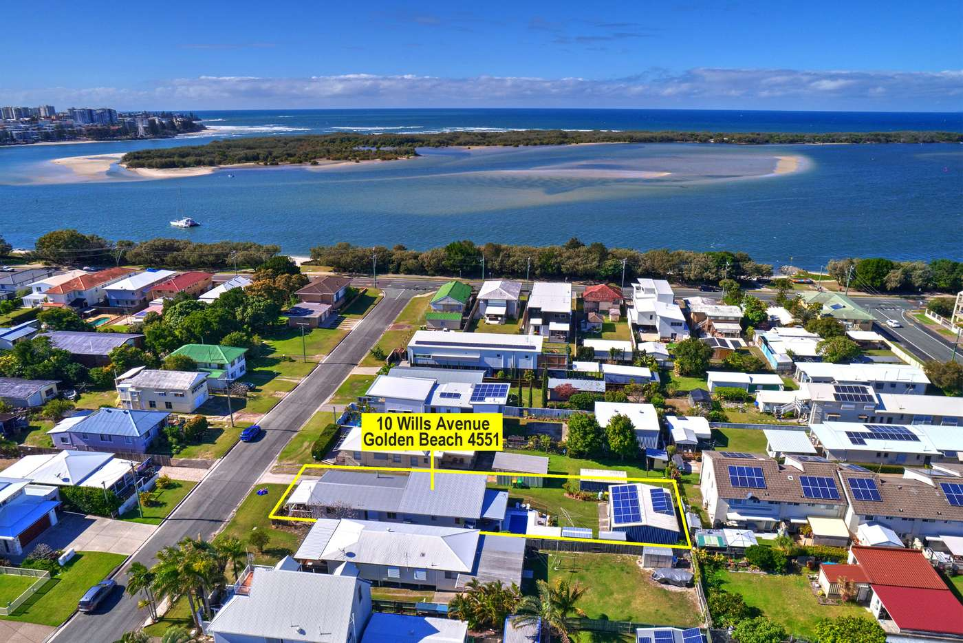 Main view of Homely house listing, 10 Wills Avenue, Golden Beach QLD 4551