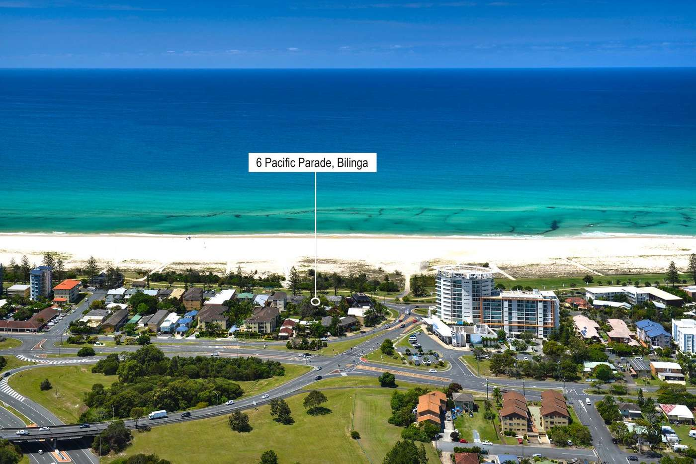 Main view of Homely house listing, 6 Pacific Parade, Bilinga QLD 4225