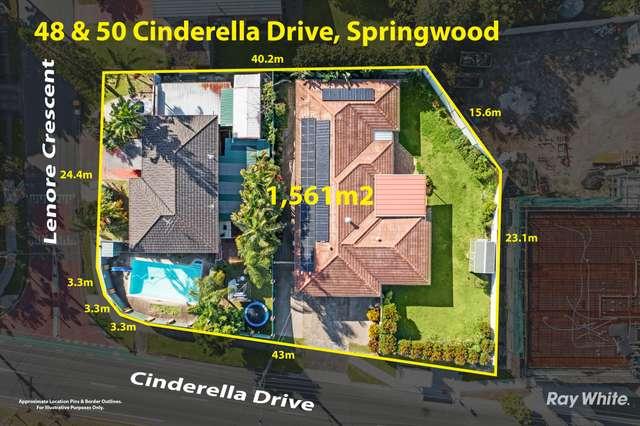 48 & 50 Cinderella Drive, Springwood QLD 4127