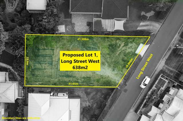 LOT 1 (Proposed) Long Street West, Graceville QLD 4075