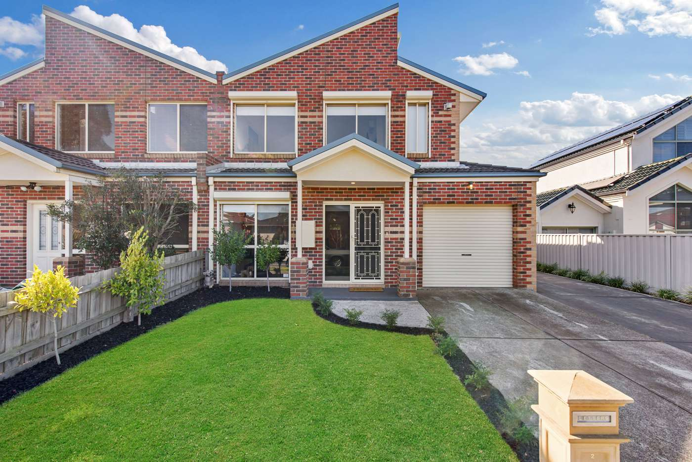 Main view of Homely townhouse listing, 2/156 Copernicus Way, Keilor Downs VIC 3038