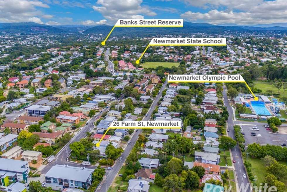 Third view of Homely house listing, 26 Farm Street, Newmarket QLD 4051