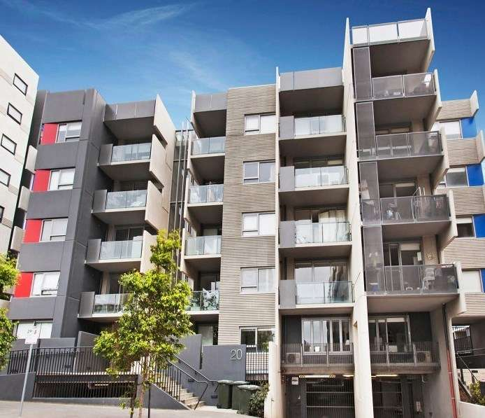 Main view of Homely apartment listing, 203/20 Reeves St,, Carlton, VIC 3053