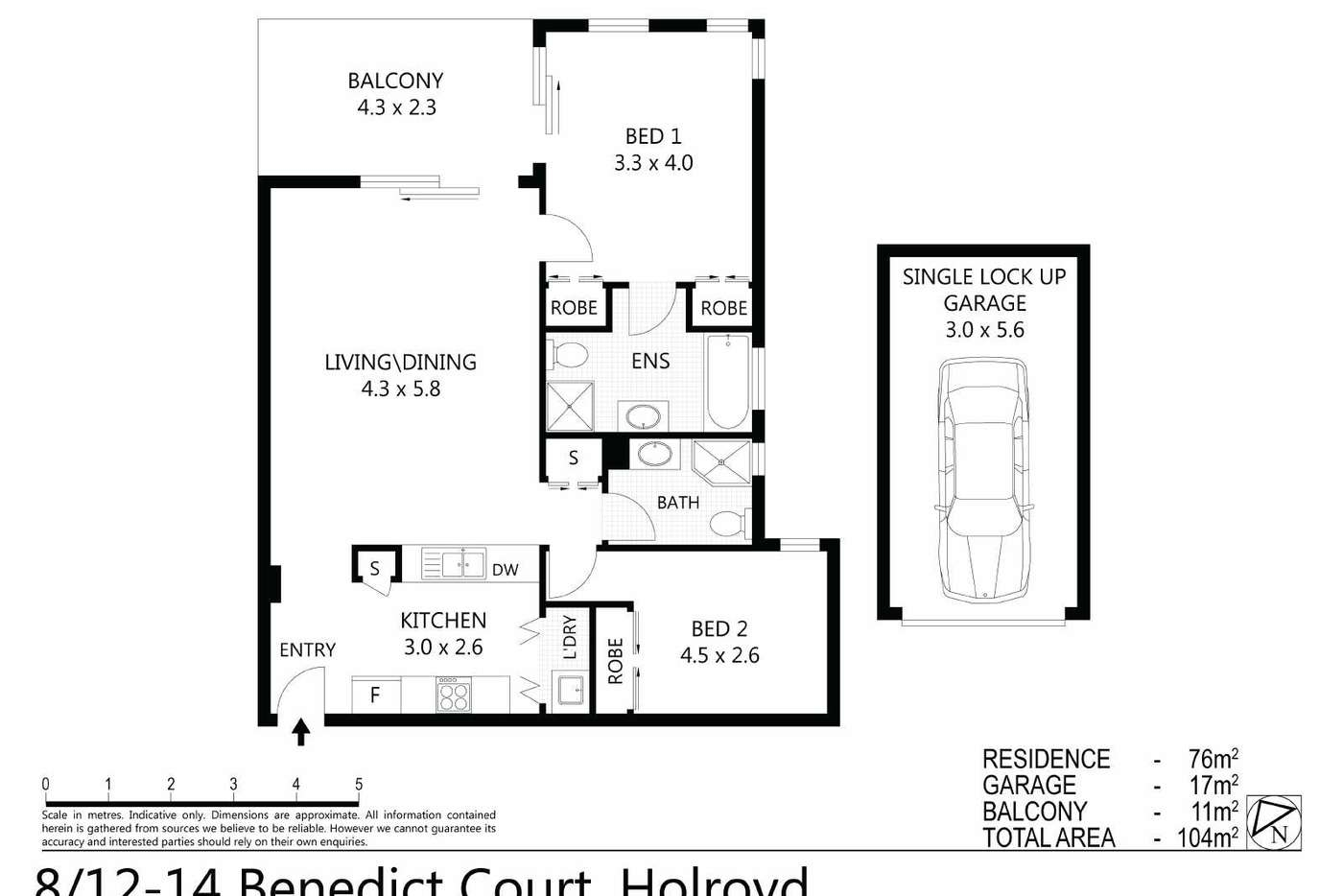 Sixth view of Homely unit listing, 8/12-14 BENEDICT COURT, Holroyd NSW 2142