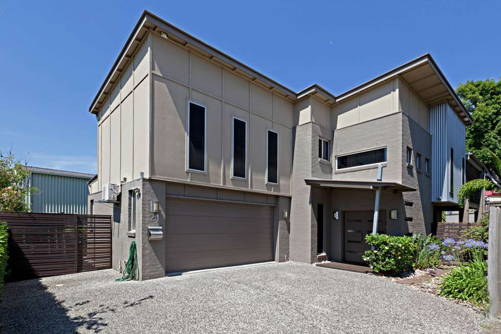 Second view of Homely house listing, 21 Enoggera Road (Entrance off Parker Lane), Newmarket QLD 4051