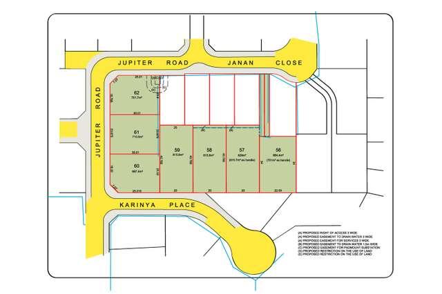 Lots 57-62, 39 Jupiter Road, Kellyville NSW 2155