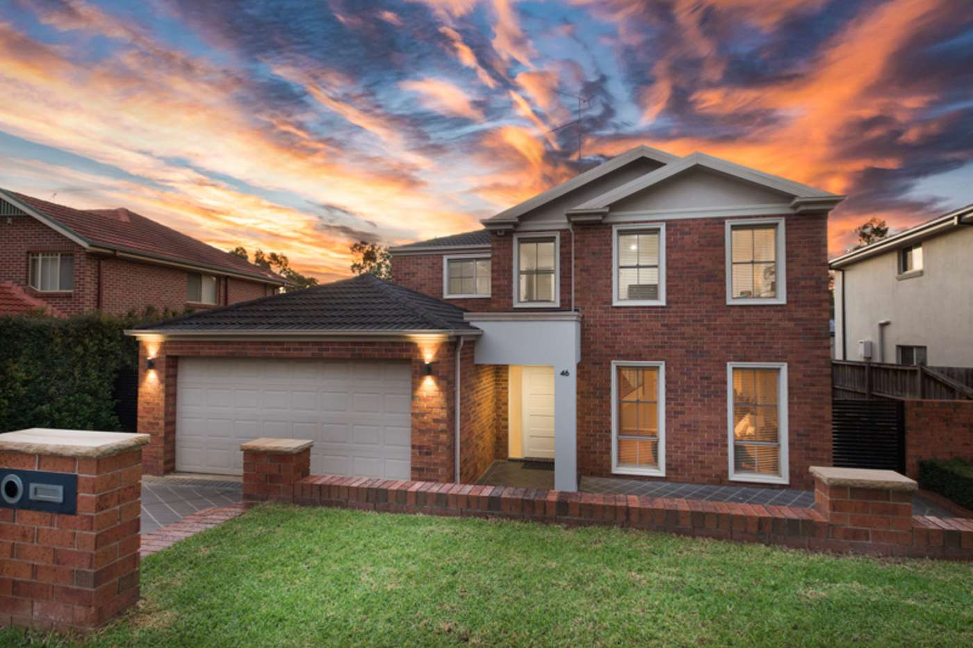 Main view of Homely house listing, 46 Perisher Road, Beaumont Hills, NSW 2155
