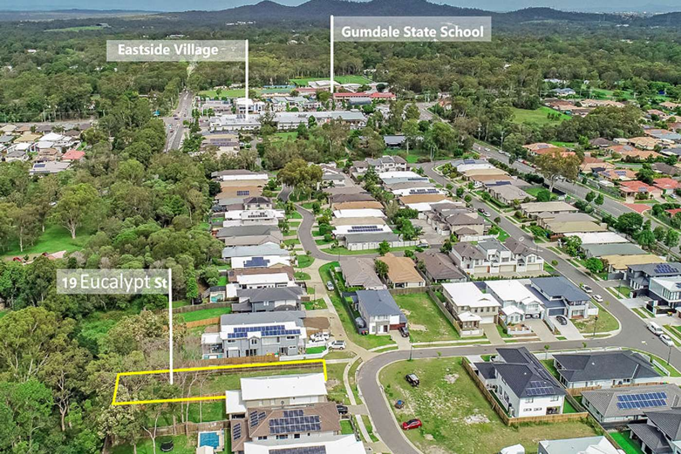 Main view of Homely residentialLand listing, 19 Eucalypt Street, Wakerley QLD 4154