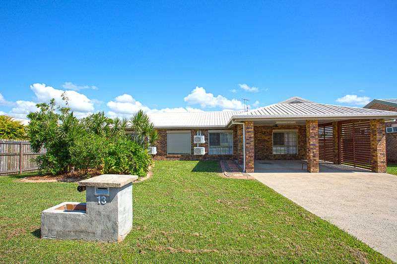 Main view of Homely house listing, 13 Davey Street, Glenella, QLD 4740