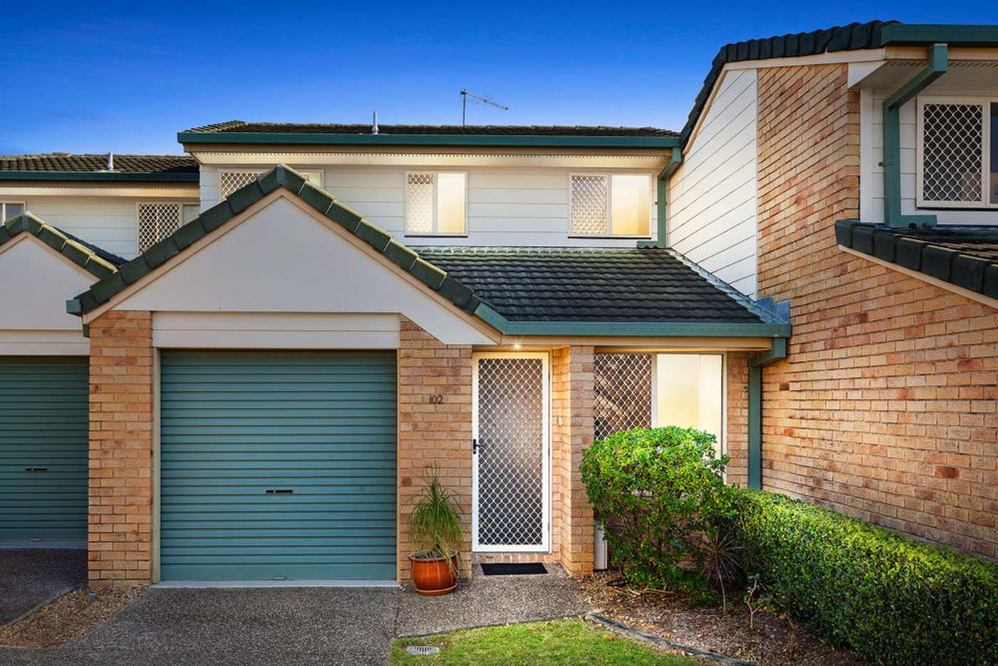 Main view of Homely townhouse listing, 102/1160 Creek Road, Carina Heights QLD 4152