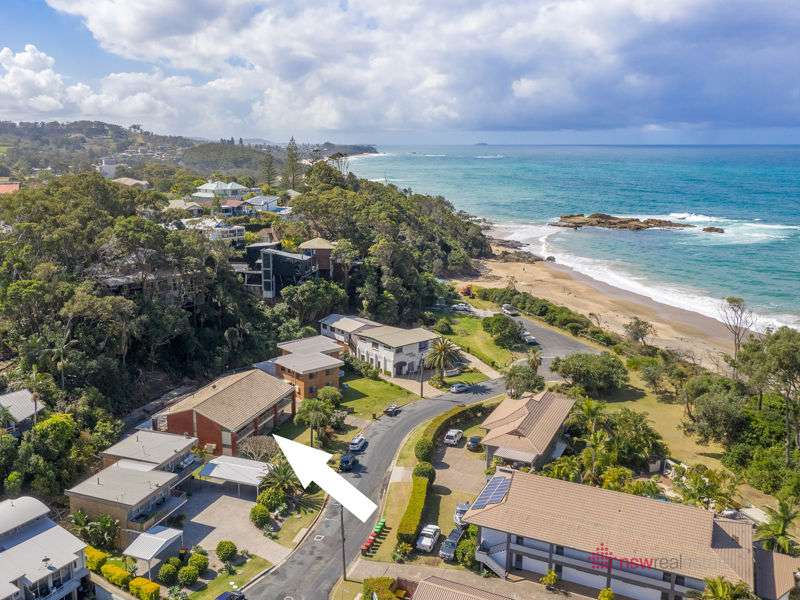 Main view of Homely unit listing, 2/35 Sandy Beach Road, Korora, NSW 2450
