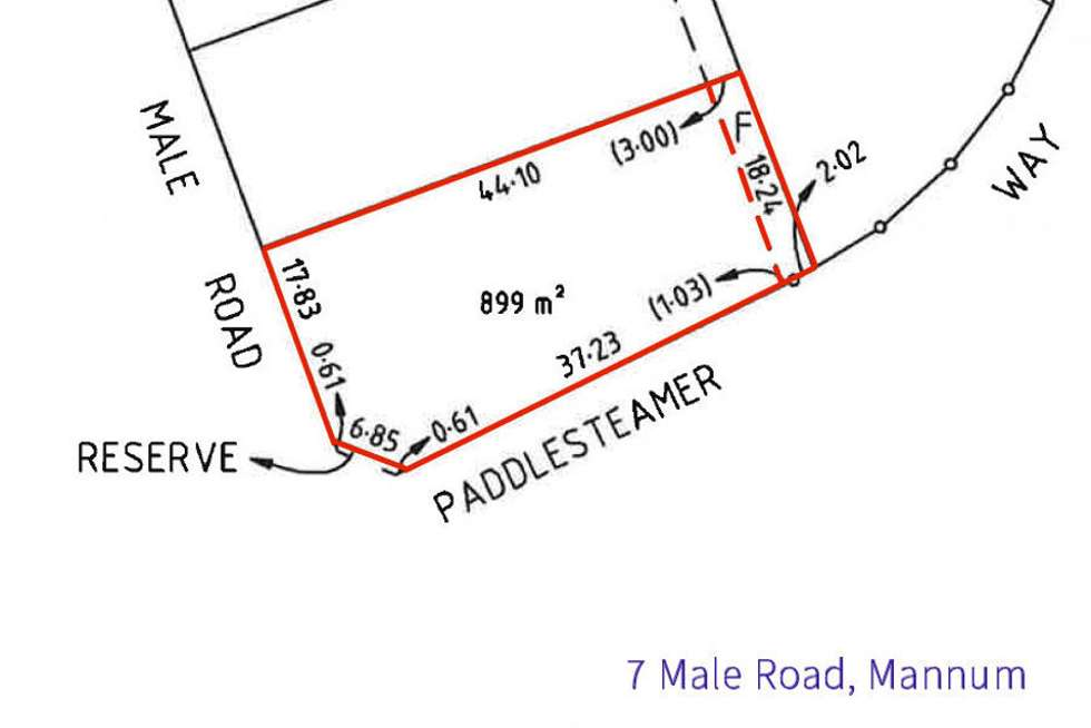Third view of Homely residentialLand listing, 7 Male Road, Mannum SA 5238