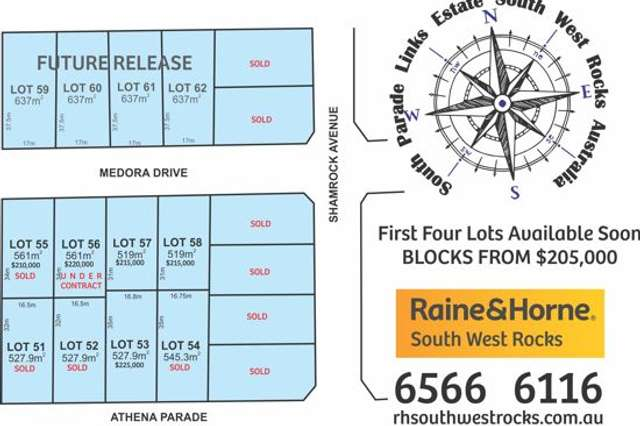 Lot 17 Shamrock Ave, South West Rocks NSW 2431