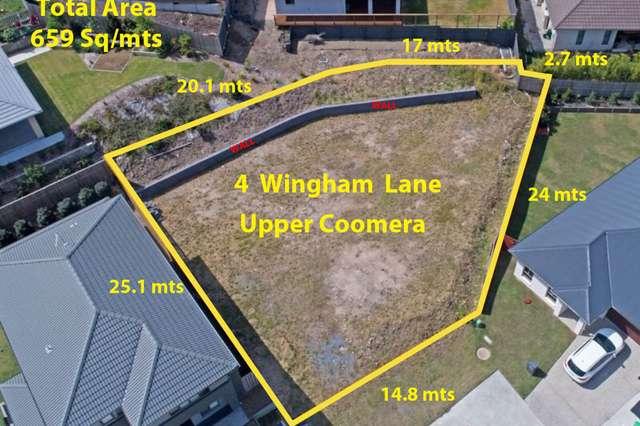 4 Wingham Lane, Upper Coomera QLD 4209